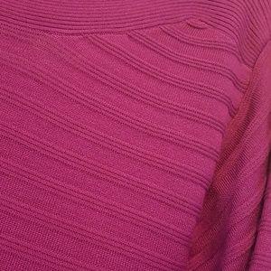 Lane Bryant Dresses - Magenta Sweater Dress